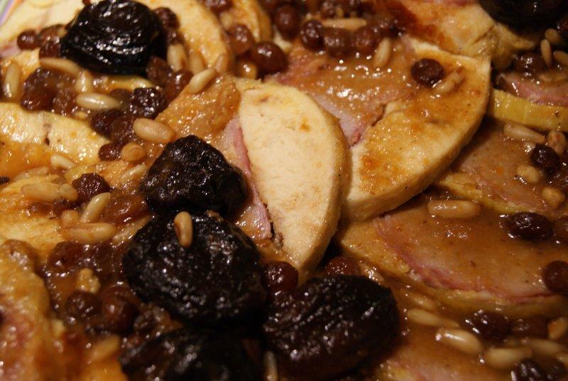 Redondo de pollo relleno 4 p.