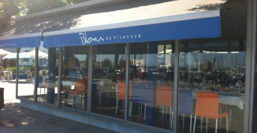 Restaurante Blau, en Vilanova i la Geltrú (Barcelona)
