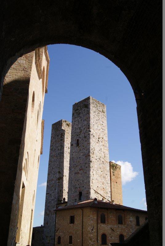 San Gimignano (La Toscana)
