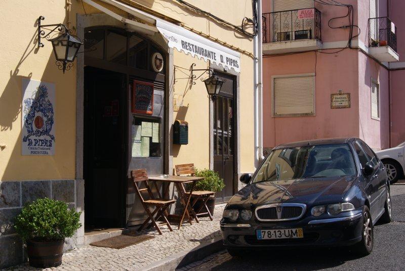 469 - Restaurante D. Pipas en Sintra