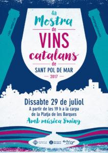 4a Mostra de Vins Catalans de Sant Pol de Mar @ Carpa situada en la Platja de les Barques