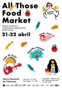 All Those Food Market - TNC @ Teatre Nacional de Catalunya