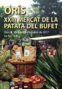 XXIII Mercat de la Patata del Bufet d'Orís @ Orís (Osona)