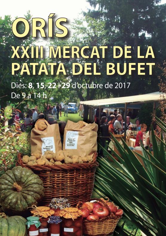 Mercat de la Patata del Bufet, Orís