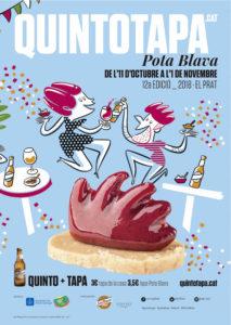 12a Edición Quintotapa Pota Blava de El Prat @ El Prat de Llobregat