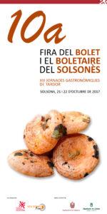 10a Fira del bolet i el boletaire del Solsonès @ Solsona