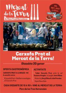 Carxofada en el Mercat de la Terra SlowFood BCN @ Barcelona