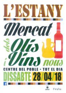Mercat d'Olis i Vins Nous en L'Estany @ Centro del pueblo