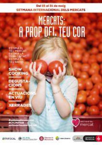 Mercats: a prop del teu cor, en Barcelona y Provincia @ Mercados de Barcelona y Provincia