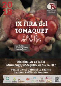 9a Fira del Tomàquet a Santa Eulàlia de Ronçana @ Cente Cívic i Cultural La Fábrica
