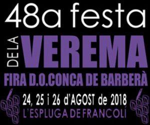 48a Festa de la Verema de la DO Conca de Barberà @ L'Espluga de Francolí