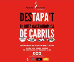 DesTAPA't, 6a ruta gastronómica de Cabrils @ Cabrils
