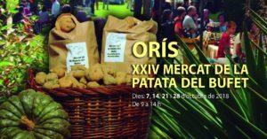 24e Mercat de la Patata del Bufet d'Orís @ Església de Sant Genís d'Orís