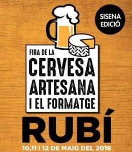6a Fira de la Cervesa Artesana i el Formatge de Rubi @ Rambla del Ferrocarril Rubi
