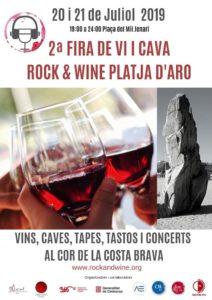 2ª Fira Rock & Wine Platja D'Aro @ Platja d'Aro