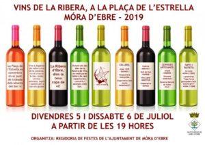 Mostra de Vins de la Ribera a Móra d'Ebre @ Plaça de l'Estrella