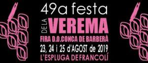 Festa de la Verema de la DO Conca de Barberà - L'Espluga de Francolí @ Plaça Montserrat Canals