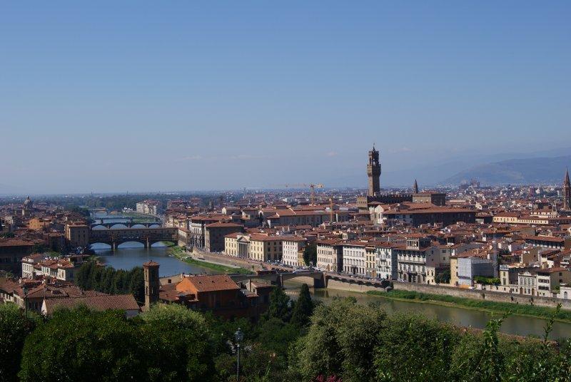 Piazzale Michelangelo - FirenzeWEB
