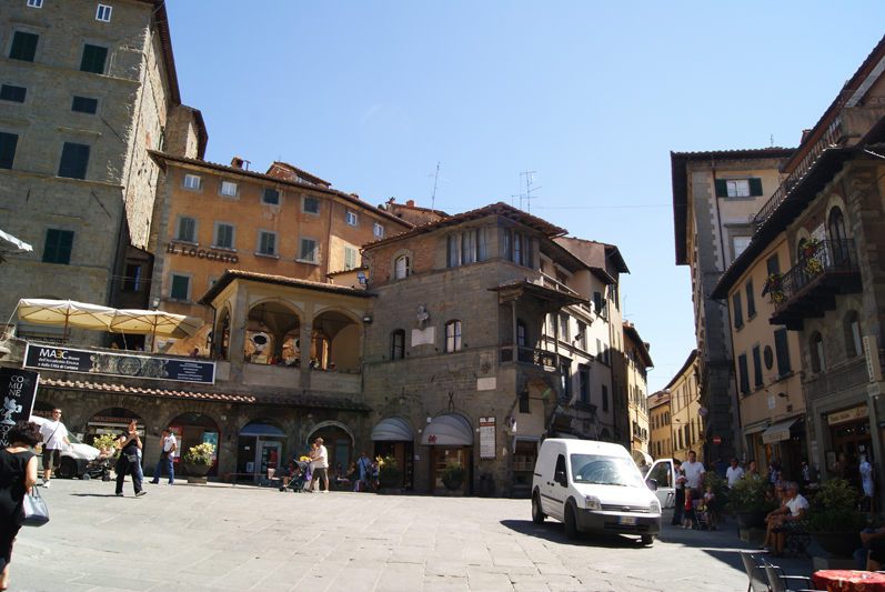 Piazza della Republicca (Cortona)