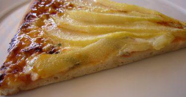 Pizza de Gorgonzola y pera
