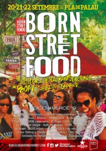 BORN Street Food Mercè @ Pla de Palau - Barcelona