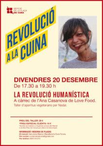 La Revolució a la cuina - La Revolució humanística @ Mercat de la Plaça de Cuba