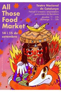 All Those Food Market @ Teatre Nacional de Catalunya
