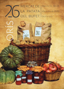 26a Mercat de la Patata del Bufet d'Orís @ Jardines de la Rectoría