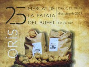 25a Mercat de la Patata del Bufet d'Orís @ Jardines de la Rectoría