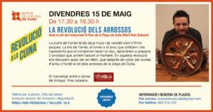 La (R)evolución de los arroces @ Mercat de la Plaça de Cuba