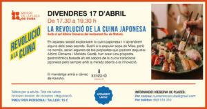 La (R)evolución de la cocina japonesa @ Mercat de la Plaça de Cuba