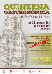 Quinzena Gastronòmica a Sant Vicenç dels Horts